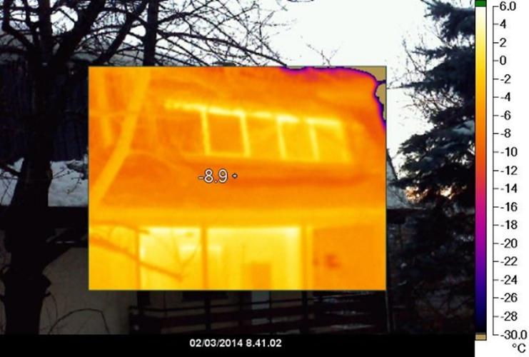 Indagine termografica relativa all'involucro edilizio