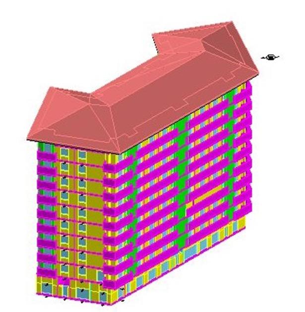 Diagnosi energetica di edificio residenziale